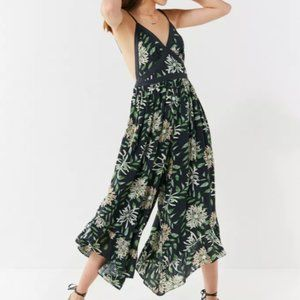 UO Strappy Back Wide-Leg Jumpsuit